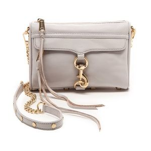 Rebecca Minkoff Leather Mini Mac Crossbody Bag